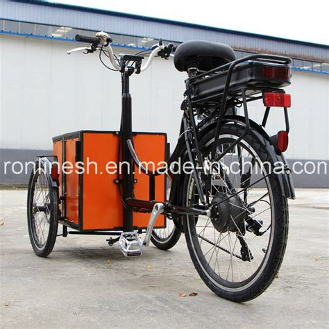 3 Wheel Electric Cargo Bike by China Bakfiets Cargo Bike 3 Wheel Electric Bicycle