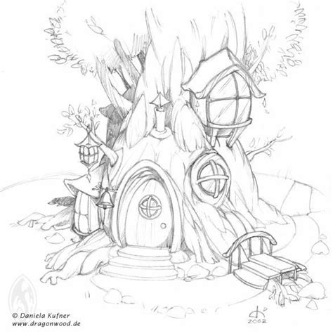 printable fairy house coloring pages fairy tree house coloring pages google search http