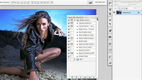 photoshop cs3 vignette tutorial recording actions in photoshop cs3 part 1