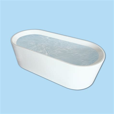 Bunnings Bathtubs by Caroma Aura 1600 Freestanding Bath Bunnings Warehouse