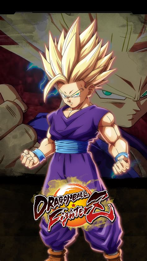 dragon ball fighterz gohan teen wallpapers cat  monocle