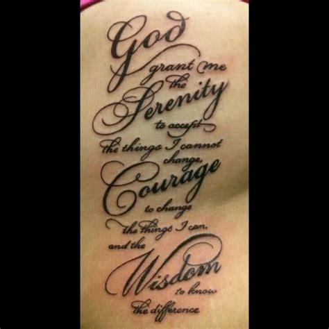 pray for me tattoo design 50 moving serenity prayer designs inkdoneright