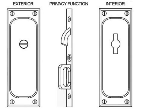 Emtek Products Inc 2105 Privacy Emtek Classic Solid Brass Mortise Pocket Door Privacy Latch Emtek Mortise Lock Template