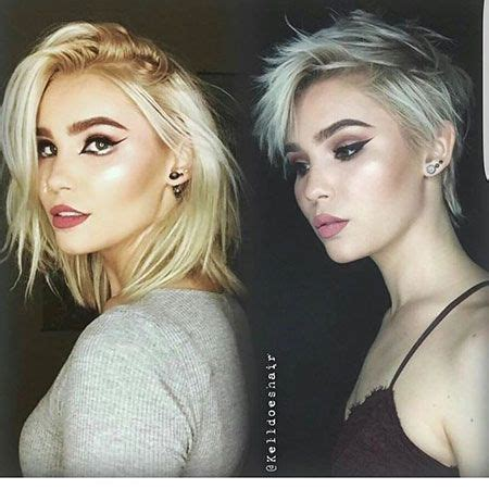 slightly longer in front hair cuts 25 trending asymmetrical pixie cuts ideas on pinterest
