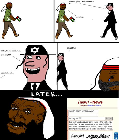 Sheeeeiiiit Meme - racists on 4chan niggerwalks know your meme