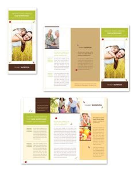 Weight Loss Center Tri Fold Brochure Template Impressos Pinterest Brochure Template Health Coach Brochure Templates