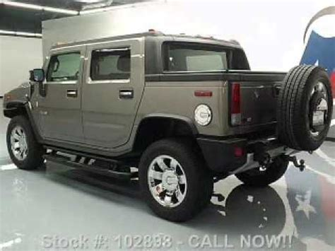 how cars engines work 2009 hummer h2 free book repair manuals 2009 hummer h2 sut stafford tx youtube