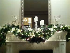 garlands with lights for fireplace decoration fireplace garland with mirror fireplace