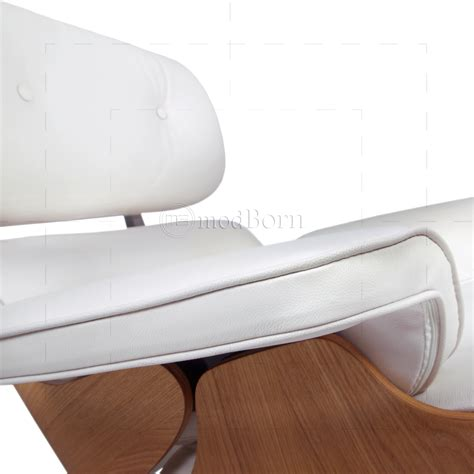 white leather chair and ottoman white leather chair and ottoman 28 images eames lounge
