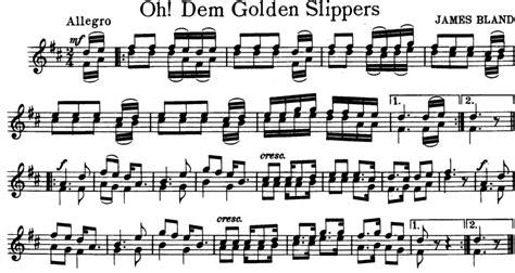 oh dem golden slippers oh dem golden slippers free violin sheet