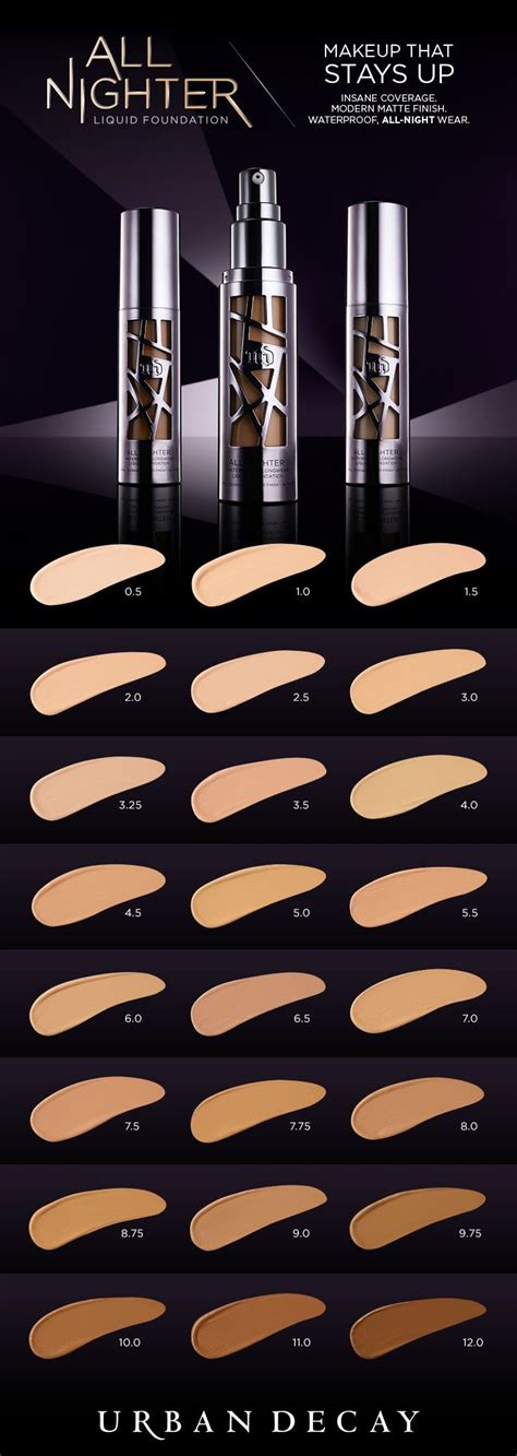 Decay All Nighter Foundation all nighter liquid foundation provides coverage with