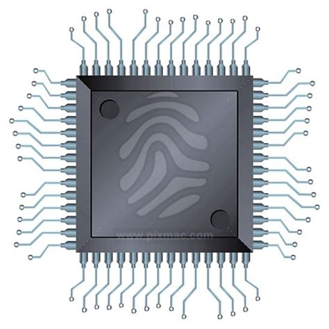 integrated electronic components eletrical clip