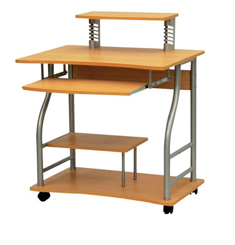 computer desks with wheels wooden computer desk wooden