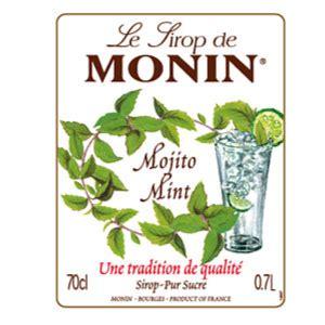 Melon Fo Syrup Sirup Mocktail Sirup Cocktail monin mojito mint