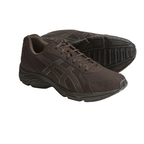 most comfortable asics asics gel advantage walking shoes for men 4392k save 27