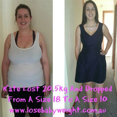weight loss 5 kg kate lost 20 5kg with lose baby weight