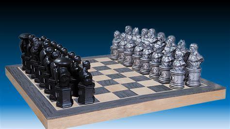 futuristic chess set justice league chess set mightymega