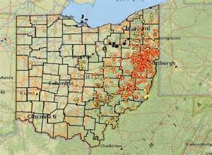 fracking in map a meeting of the minds fracking in ohio news