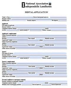 Real Estate Rental Application Form Template by Free Rental Application Form Real Estate Forms