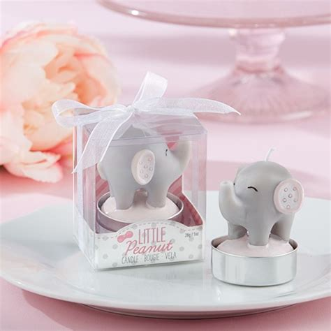 Baby Shower Elephant Favors by Elephant Candle Baby Shower Favors