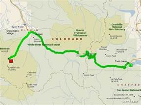 independence pass colorado map remembering maroon bells hispanicslammer vfrdiscussion