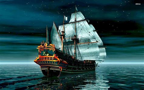 pirate boat pirate ship backgrounds wallpaper cave