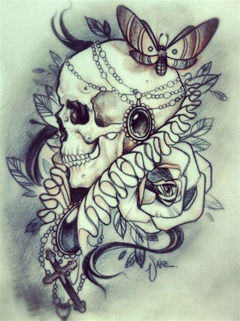 lady rose tattoo 45 best skull and cross images on