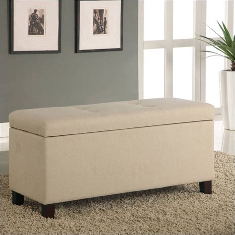 bedroom seating bench modus furniture urban seating storage bench natural linen