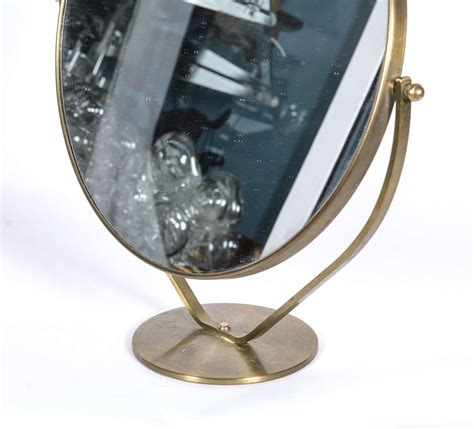 graceful tabletop vanity mirror at 1stdibs
