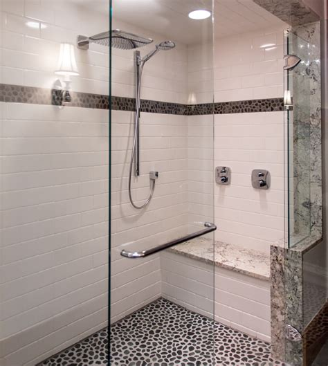 bathroom showers with seats take a seat shower seating design ideas furniture