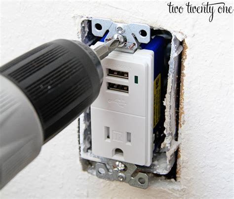 how to install usb wall outlet how to install a usb wall outlet receptacle outlet