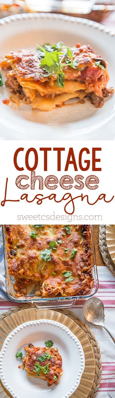 how to make lasagna with cottage cheese cottage cheese lasagna