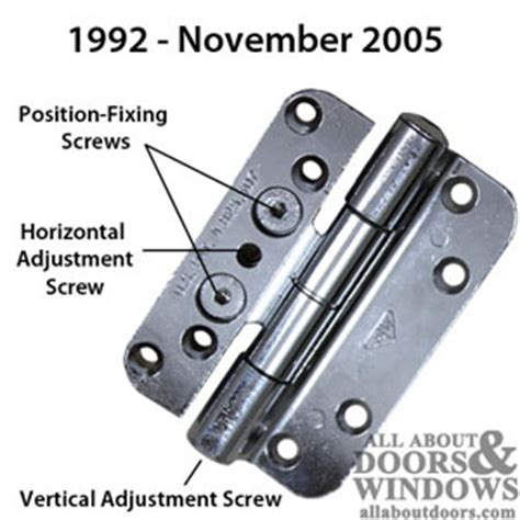 Identifying Andersen Frenchwood Door Hinges Adjusting Patio Door Hinges