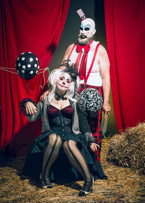 mlle chevre cirque macabre scary couples costumes