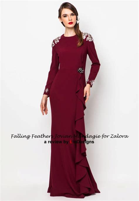 jovian mandagie fesyen raya 2014 jovian mandagie zalora raya collection falling feathers by