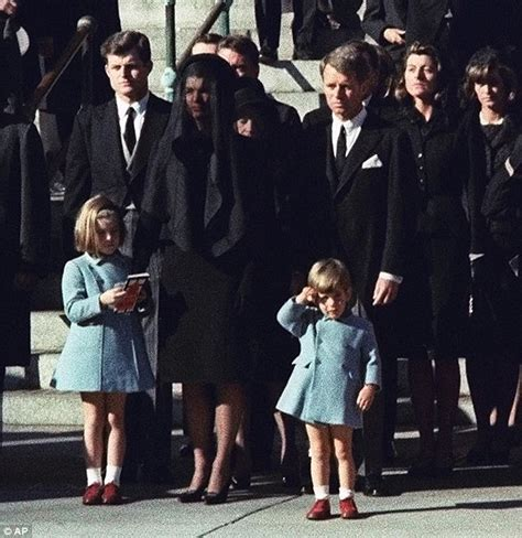 john f kennedy jr children where were jfk s children when he was assassinated