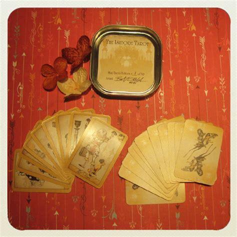 mini tarot card template my decks the original isidore tarot mini deck attic