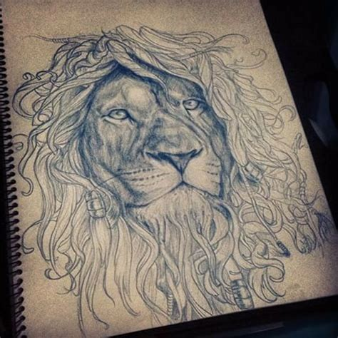 lion with dreads tattoo 22 best outline with dreads images on