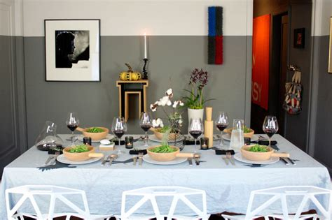 dining room tablescapes tablescapes thanksgiving table setting 2012 modern dining room los angeles by fitzsu