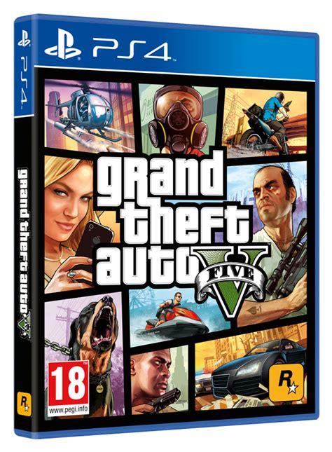 New Ps4 Gta V New Ltd grand theft auto v gta v ps4 brand new sealed official pal
