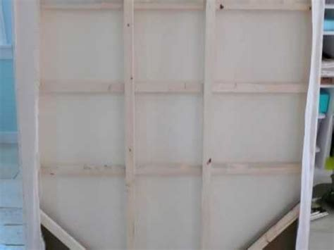 build an a frame how to make and stretch a big large scale giant canvas