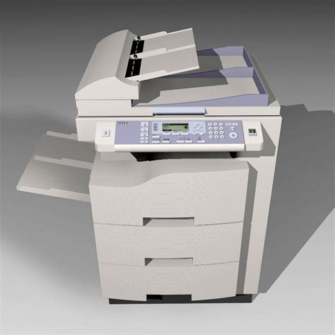 Office Copy Machines by Copy Machine C4d