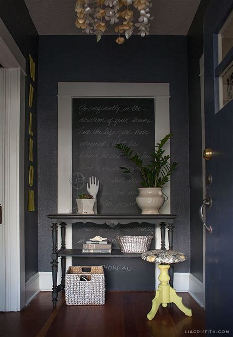yellow foyer my home tour the entryway decor