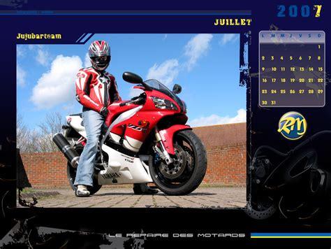 Calendrier Juillet 2007 Le Calendrier 2007 Du Repaire Des Motards