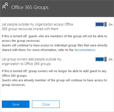 How To Access Office 365 Guest Access To Office 365 Groups Office 365
