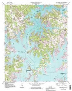 lake norman carolina map lake norman topographic map nc usgs topo 35080e8