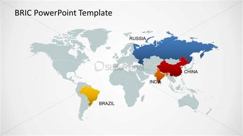 powerpoint world map template editable world map template for powerpoint bric countries