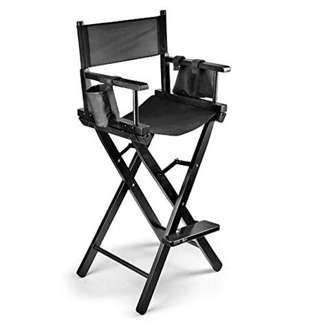 lightweight folding bar stool flexzion makeup chair artist directors actor wood stool