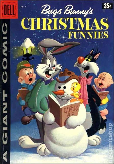 dell giant bugs bunnys christmas funnies  comic books
