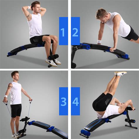 Kursi Alat Fitness Bench Press Abdominal Exercise sit up abdominal bench adjustable press weight